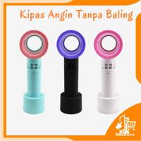 Kipas Angin Zero 9 Mini Fan Kipas Angin Tanpa Baling Portable Hand Fan