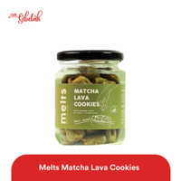 Melts Matcha Lava Cookies Jar 60gr
