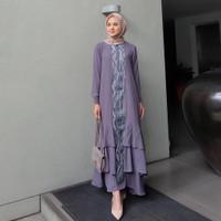 Baju Gamis Wanita Muslim Terbaru Ranai Maxy Dress Syari Termurah
