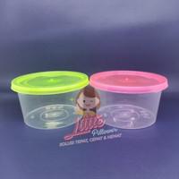 (KHUSUS GOJEK ISI500) Cup Plastik 300ml KUNING-Cup Puding-Cup Dessert