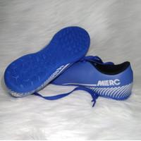 Sepatu Futsal Anak Nike MerC Biru Muda