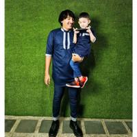 Baju Muslim Abi Couple Bapak Anak Maxkenzo Baju KoKo Anak BerKualitas