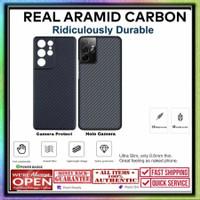 Case Samsung S21 Ultra REAL ARAMID CARBON (Bukan PITAKA)