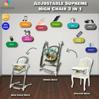 Mastela Baby Swing Adjustable Supreme High Chair Booster Seat 7992