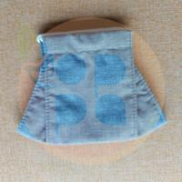 Masker Kain Katun 3 Lapis Ply Bayi Kecil Small Baby Mask - Abu-abu