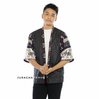 Baju Tenun Kimono Pria dan Wanita