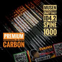 SHAFT MUSEN PREMIUM CARBON Spine 1000 ID 4.2mm - Arrow Anak Panah