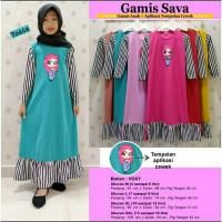 Baju Muslim Anak Perempuan / Baju Anak Perempuan 5 6 7 8 9 10 Tahun