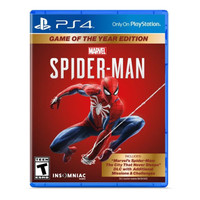 [PS4] Spiderman Game Of The Year - Spiderman GOTY
