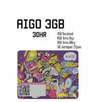 Voucher Axis Aigo Bronet 3GB 30hr