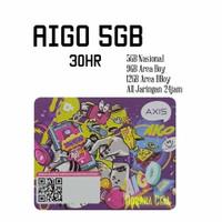 Voucher Axis Aigo Bronet 5GB 30hr