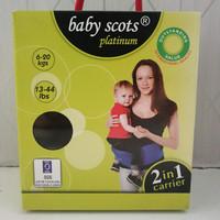 Hip Seat Baby Scots Platinum Carrier