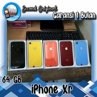 Apple iPhone XR 64GB Second Ex Internasional,fullset