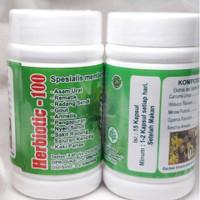 Herbiotic - 100 Obat Herbal Nyeri Sendi Asam Urat Herbiotik