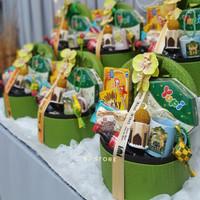 Paket box parcel lebaran idul fitri hampers makanan murah - Tanpa Isi