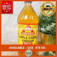 BRAGG Apple Cider Vinegar 473 ml / Cuka Apel BRAGG 473 ml - EXTRA BOX