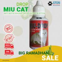 Antibiotik Kucing Dan Anjing MIU Drop 30ml