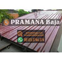 Atap Spandek Galvalum Warna Kencana Bukan Atap Seng