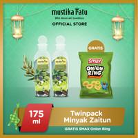 [Mustika Ratu] Twinpack minyak zaitun 175ml free Smax onion rings