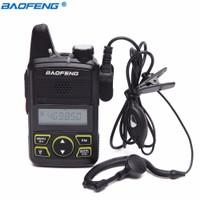 HT Baofeng T1 BF-T1 Mini Handy Talky Walkie Talkie Single Band 1W 20ch