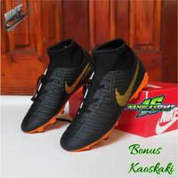 sepatu Bola Nike Mercurial superfly boots terbaik terlaris termurah 11 - HITAM GOLD, 43