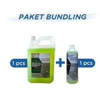 Paket Willbern Radiator Green Coolant Galon 5 liter + 1 liter