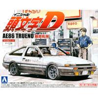Aoshima Initial D AE86 Trueno Fujiwara Takumi