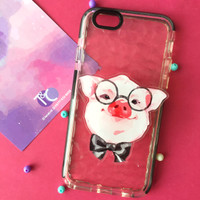 Popsocket / Phone Accessories - Pig with Glasses