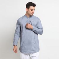 Shams Al-Isra Baju Koko Kurta Kemeja Pria Fashion Muslim - Abu Muda, S