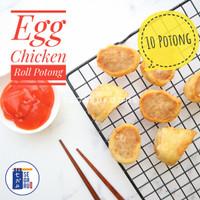 Egg Chicken Roll Potong | Bento Frozen Food Homemade Halal isi 10 pcs