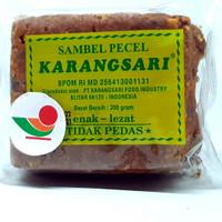 KARANGSARI SAMBEL PECEL TIDAK PEDAS 200gr | KARANG SARI BUMBU SAMBAL