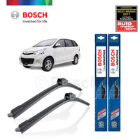 Wiper Mobil Frameless Avanza 2004-2012 Sepasang Bosch ClearAdvantage