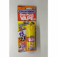 one push VAPE / ANTI nyamuk spray / obat nyamuk semprot