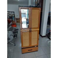 lemari pakaian plastik gantung napolly CRS 5G5 DKC