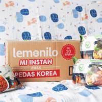 Lemonilo Mie Pedas Korea - 1 DUS (20 Pcs)