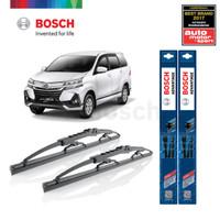 Wiper Mobil Daihatsu New Xenia Sepasang Bosch Advantage