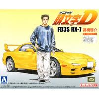 Aoshima Initial D FD3S RX-7 Takahashi Kesuke