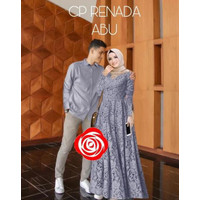 Ready Empat Warna Baju Couple Cople Kapel Samaan Pasangan Kemeja Gamis