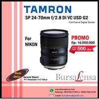 Tamron SP 24-70mm F2.8 Di VC USD G2 For Nikon