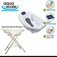 Aqua Scale 3in1 Bathtub with Bath Stand / Bak Mandi Set Kaki Bak - BAK