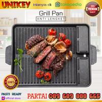 YAKINIKU Double Multi Grill Pan (TEFLON MARBLE ANTI LENGKET)