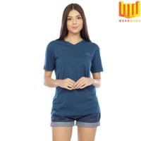 [Bamboo Cotton] V NECK T SHIRT / KAOS V NECK WANITA