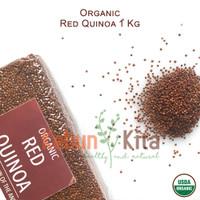 Organic Red Quinoa 1 Kg ( Quinoa Merah Organik)