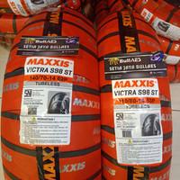 Ban AEROX depan belakang merk maxxis uk 140/70-14&110/80-14 victra