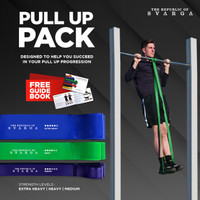 Pull Up Band Value Pack | Long Resistance Band SVARGA | Premium Latex