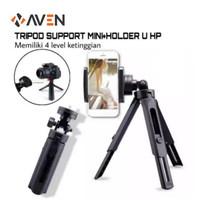 AVEN - Tripod Support Mini Extendable Smartphone + Holder U Satoo