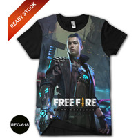 Baju Free Fire Crono Cristiano Ronald Baju Anak Series DEWASA #REG-618