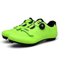 Sepatu Roadbike Multi Cleat SPEED Green Fluorescent~Sepatu Gowes Balap