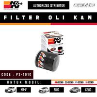 Filter Oli K&N Honda Civic CRV HRV BRV Jazz Brio Mobilio City PS-1010