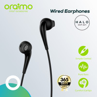 Oraimo Halo Earphone OEP-E21 - Black - Hitam
